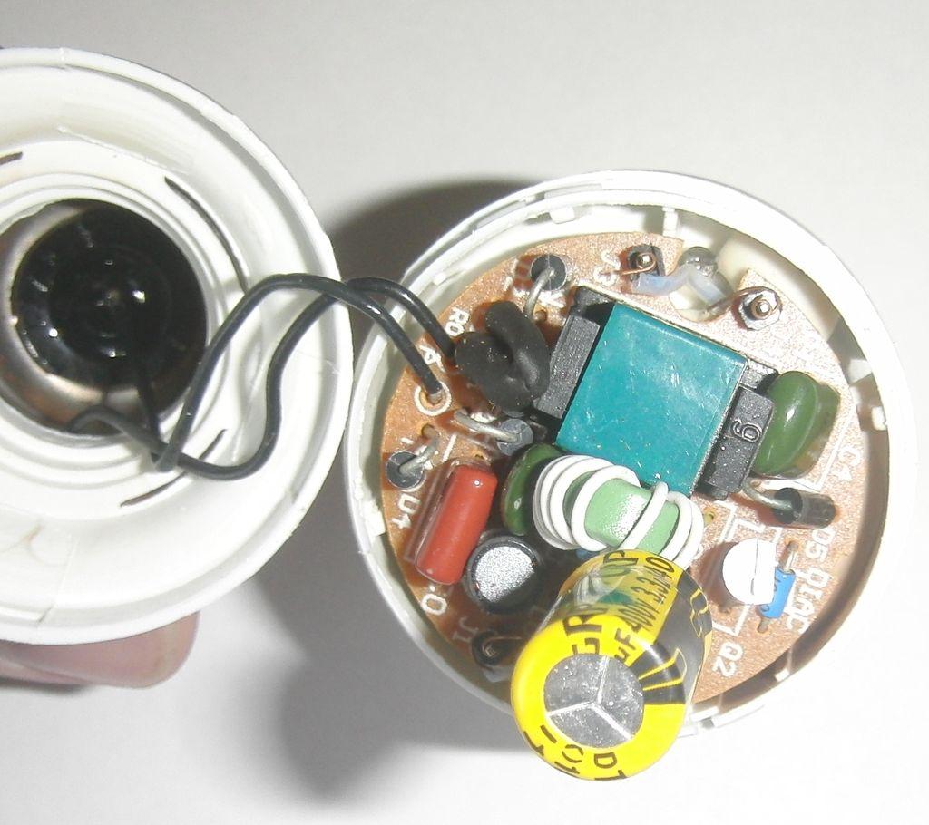 Ремонт балласта энергосберегающих ламп