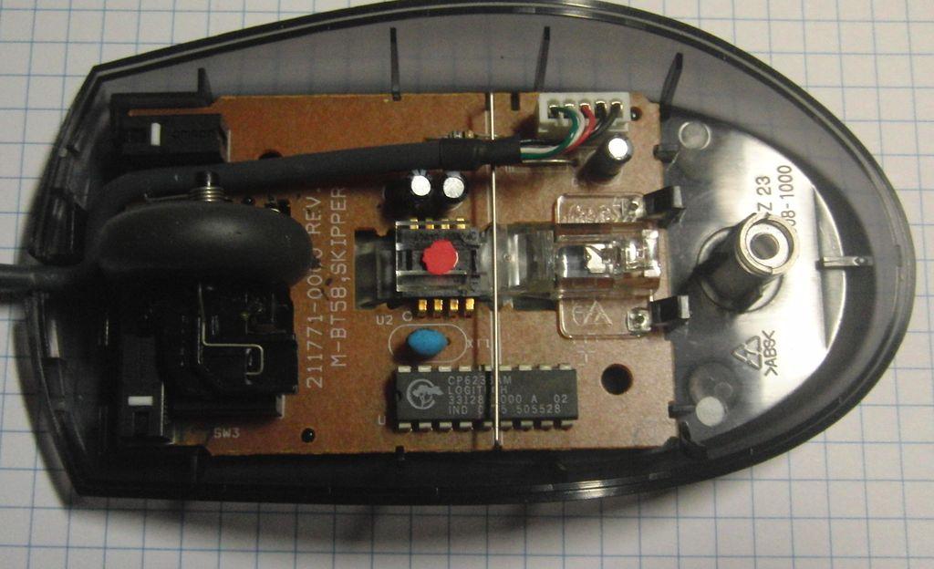 Мышь Logitech M-BT58