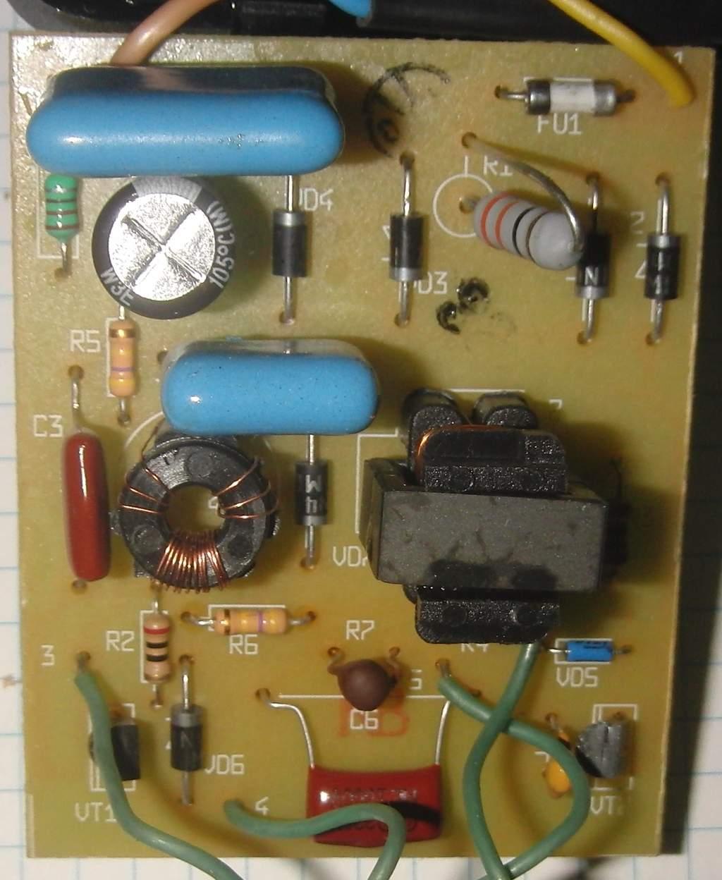 Схема электронного балласта для ламп фото 225