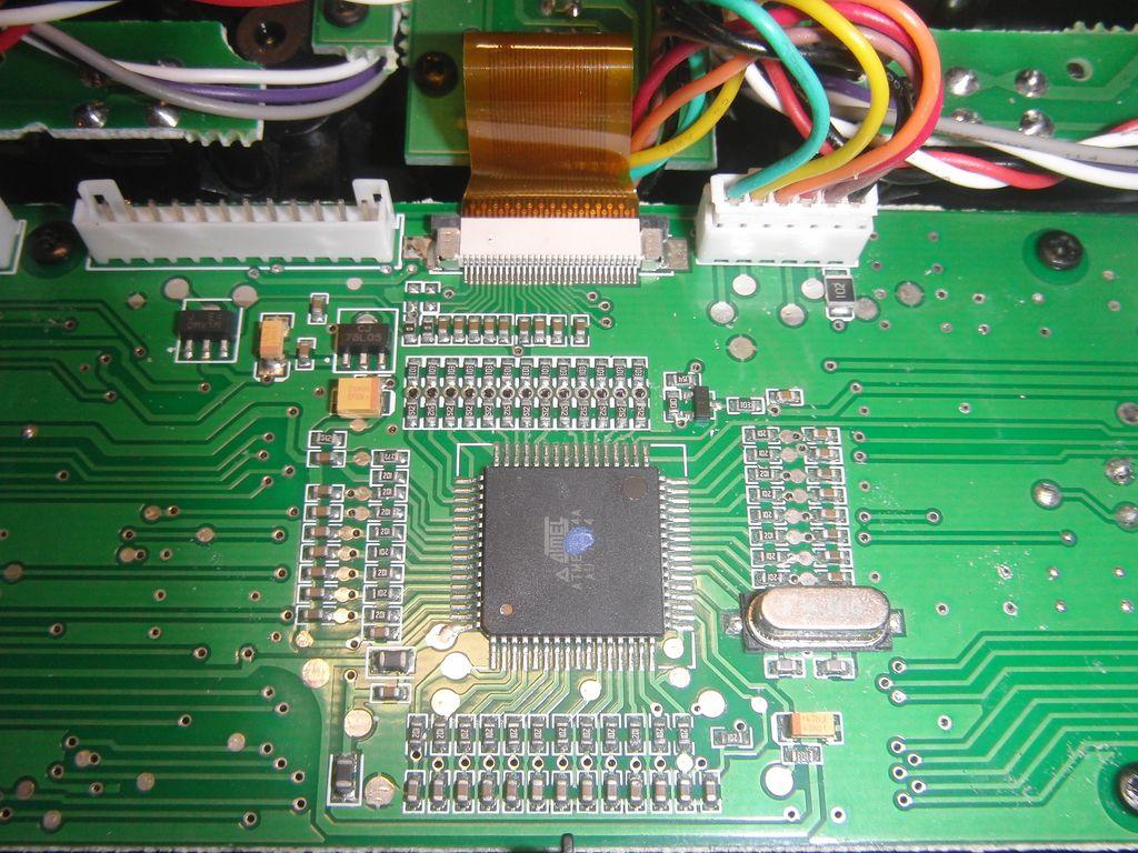 Передатчик системы радиоуправления FlySky FS-TH9X, главная плата