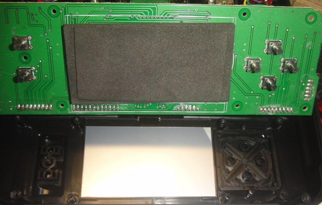 Передатчик системы радиоуправления FlySky FS-TH9X, главная плата со стороны индикатора