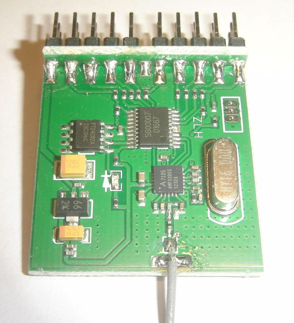 Приемник системы радиоуправления FlySky