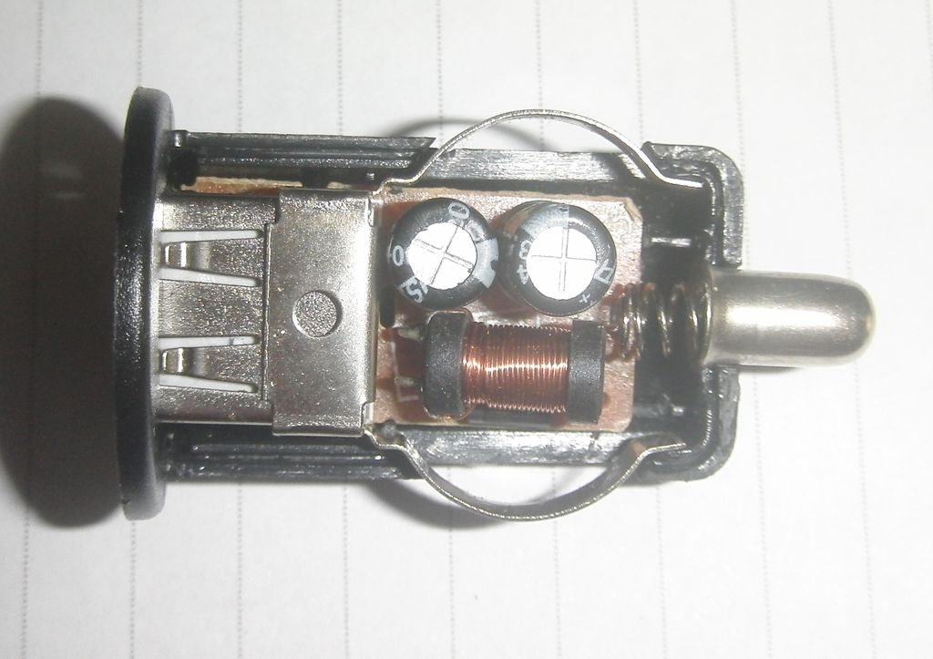 Плата F8Z445 со стороны дросселя