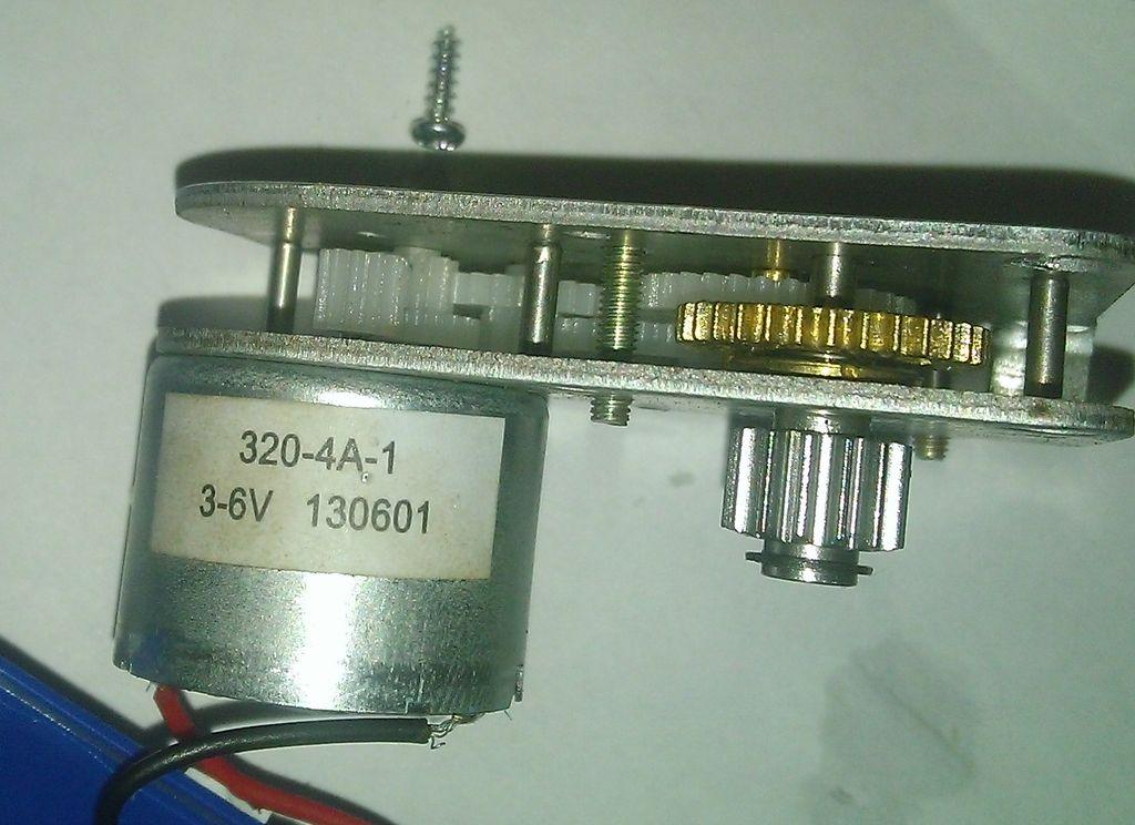 Электродвигатель и редуктор
