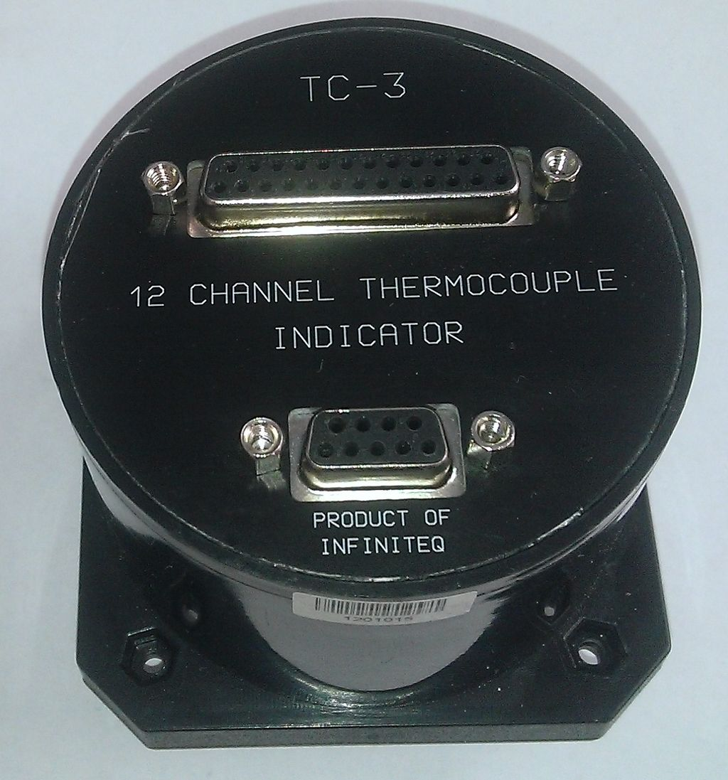 MGL TC-3  вид со стороны разъемов