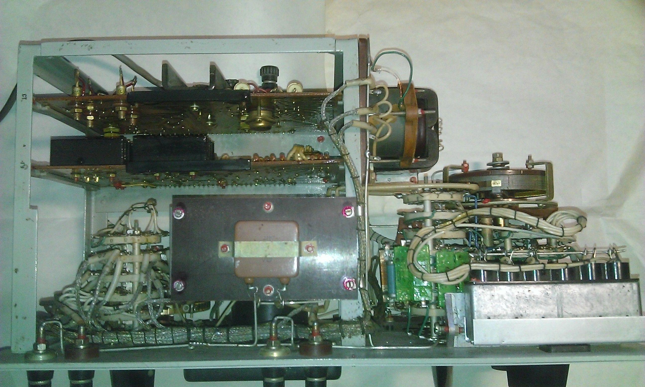 Р577 - со снятым кожухом, вид сверху