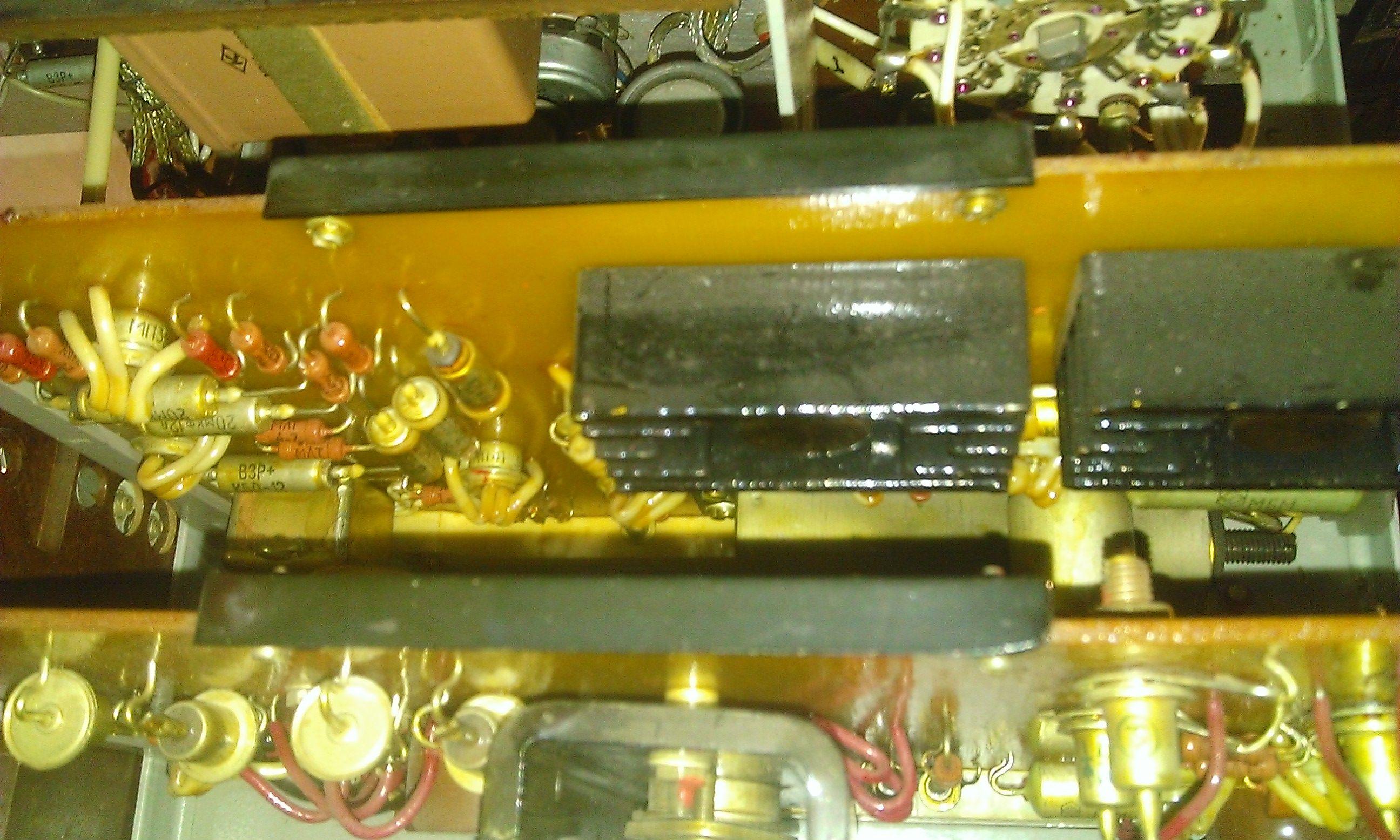 Р577 - плата блока генератора и усилителя