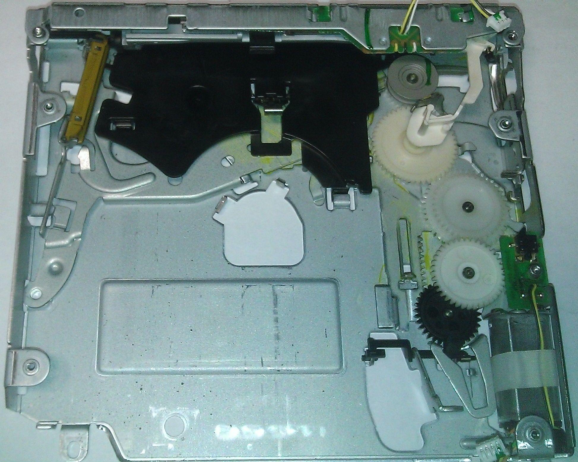 DVD M3.5 - механизм загрузки диска