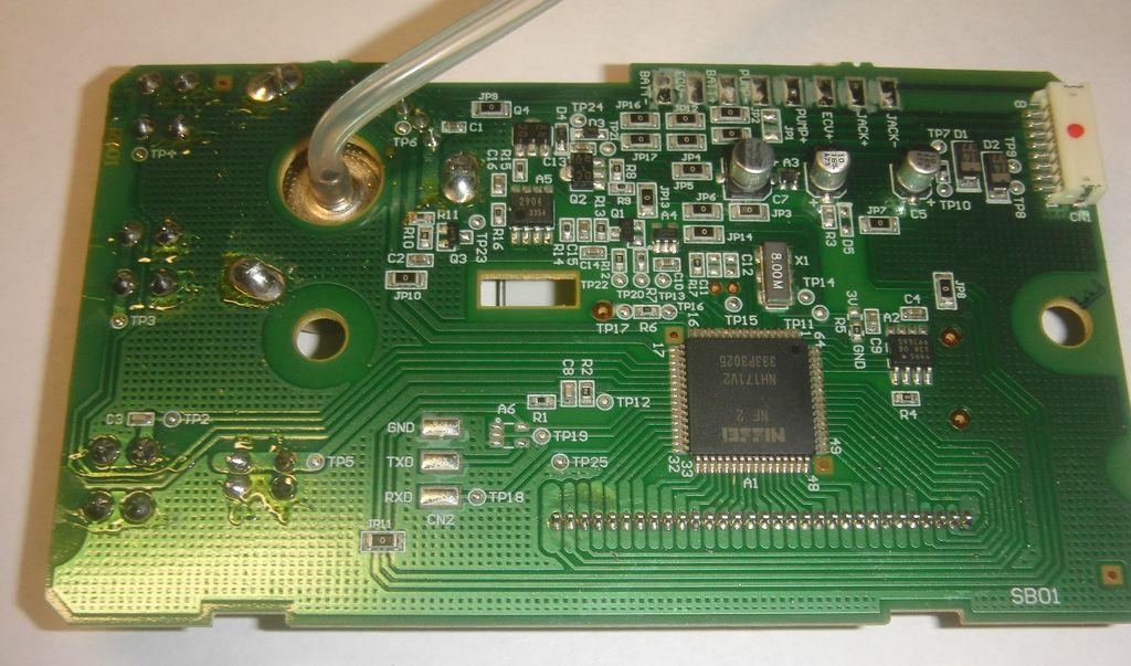 DS-500 плата со стороны компонентов