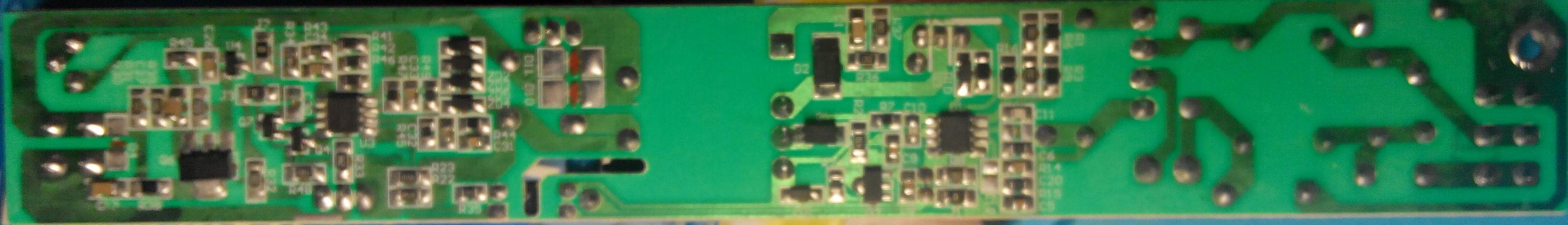 LED-драйвер Arlight, плата со стороны монтажа