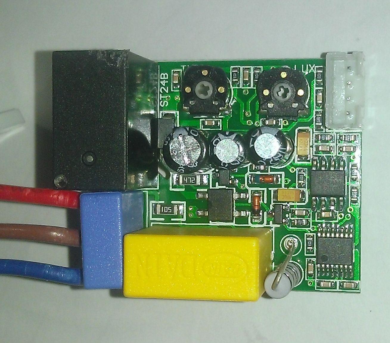st24b датчик движения - плата со стороны компонентов